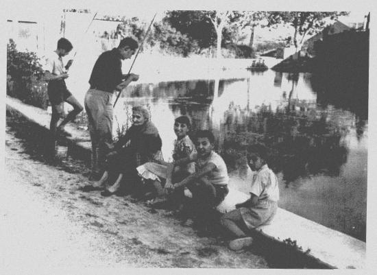 le grand gour en 1957