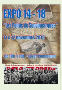 Affiche expo souvignargues 12