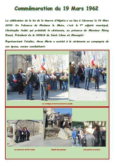 Commemoration guerre algerie livre evenementiel