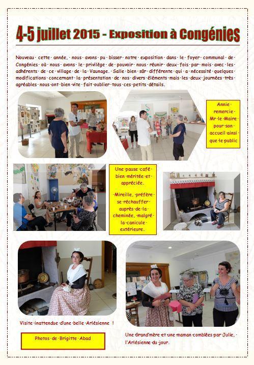Congenies expo 4 5 juillet 2015 p1