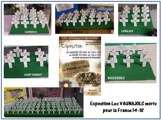 Expo les vaunajols oct 2019