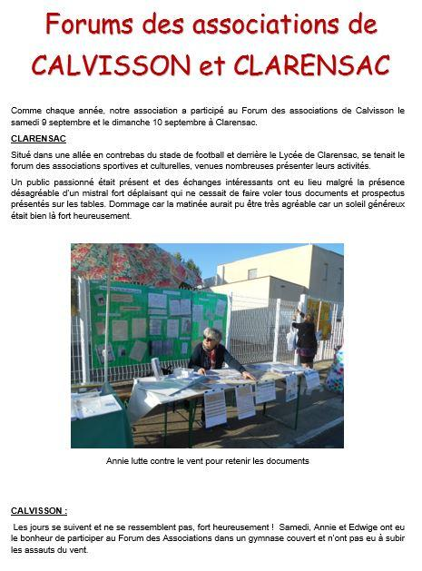 Forum de calvisson p 1 2017