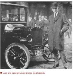 Henri ford et son modele t