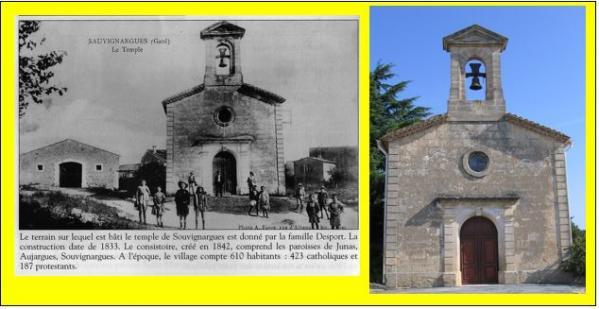 Le temple hier et aujourd hui