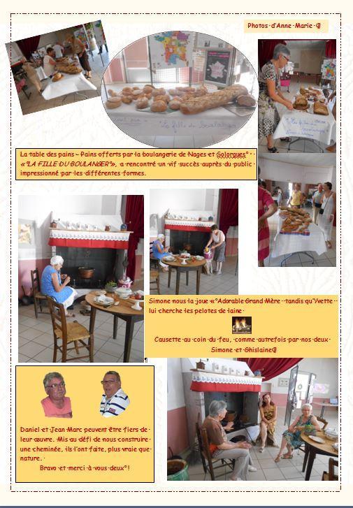 Les pains la cheminee expo 2015 clarensac