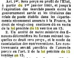Loi du 15 ventose an xiii bibliotheque googols lois decrets ordonnances reglements volume 61 page 11