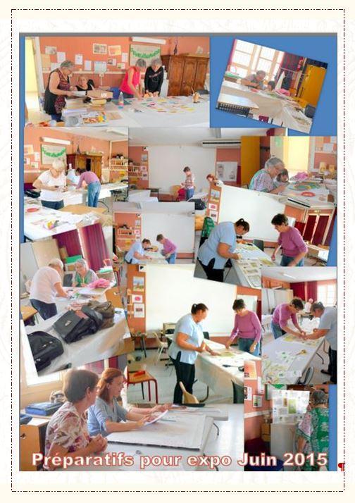 Preparatifs pour expo juin 2015 bis